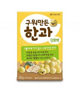 IVENET貝貝 營養脆米波波(南瓜味) 20g
