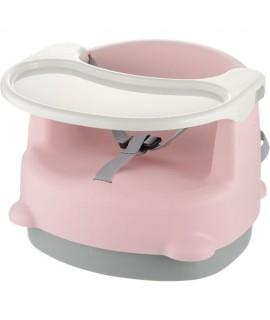 RICHELL 抗菌兩用餐桌椅 - 粉紅色