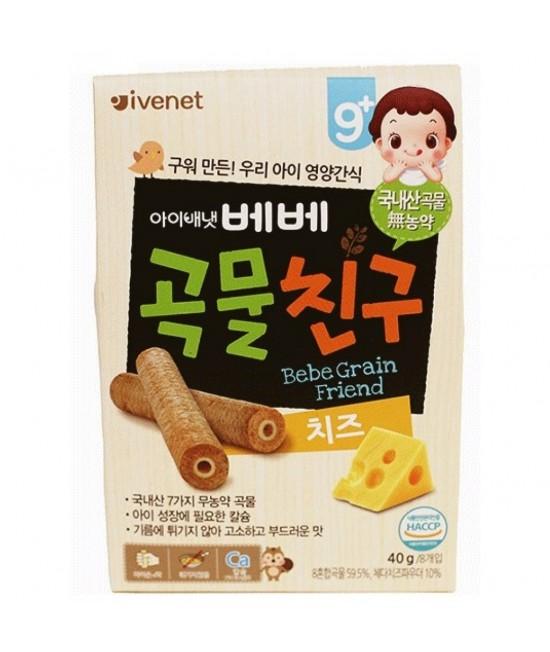 IVENET貝貝 糙米手指餅(芝士味) 40g