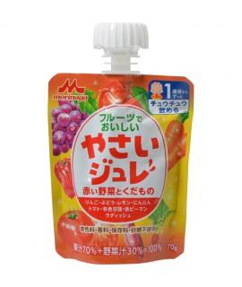 森永 紅色野菜水果果凍 70g