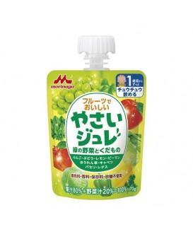 森永 綠色野菜水果果凍 70g