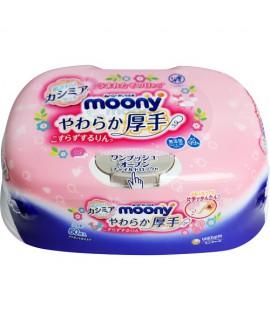 MOONY 加厚、重水份嬰兒濕紙巾60片(盒裝)