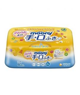 MOONY 手、口濕紙巾60片(盒裝)