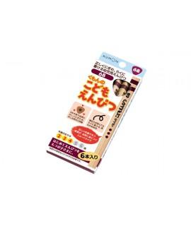 KUMON 6B三角鉛筆 (6支)
