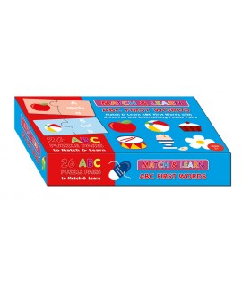MATCH AND LEARN BOX-ABC FIRST WORDS