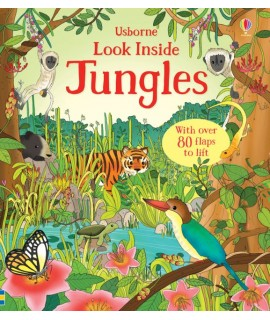 USBORNE - LOOK INSIDE THE JUNGLE