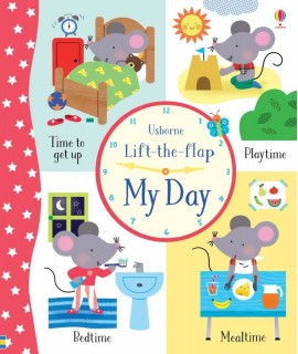 USBORNE LIFT THE FLAP MY DAY