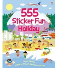 555  STICKER FUN HOLIDAY