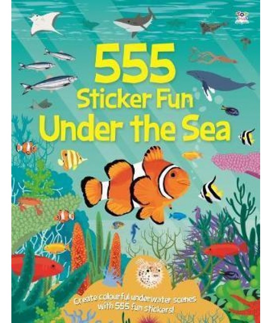 555 STICKER FUN UNDER THE SEA
