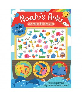 NOAH'S ARK PUFFY STICKER BOOK