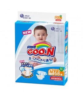 [增量裝] GOON 大王紙尿片 M 中碼68片(6-11kgs)