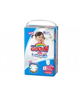 [增量裝] GOON 大王學習紙尿褲 L 大碼女仔50片(9-14kgs)