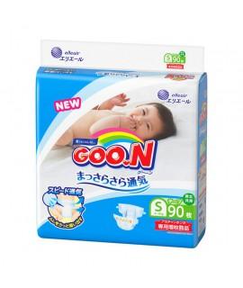 [增量裝] GOON 大王紙尿片 S 細碼90片(4-8kg)