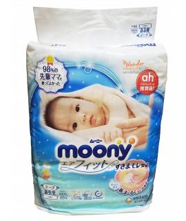 [增量裝] MOONY 小熊維尼紙尿片 NB 新生兒96片(5kg以下)