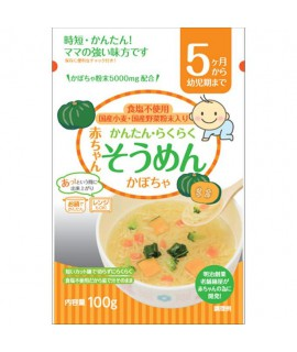 TANABIKI田靡 嬰兒南瓜麵100g (5個月)