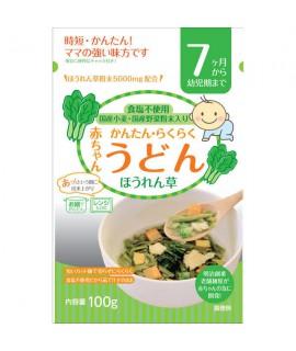 TANABIKI田靡 嬰兒菠菜烏冬100g (7個月)