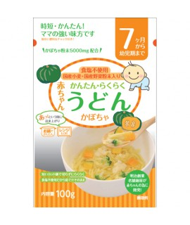 TANABIKI田靡 嬰兒南瓜烏冬100g (7個月)