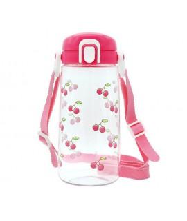 LEC 直飲水樽 - 附揹帶(車厘子) 450ML BPA FREE
