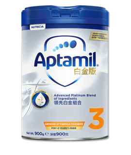 APTAMIL白金版 3號嬰兒奶粉 (1-3歲適用) 900g (新版)