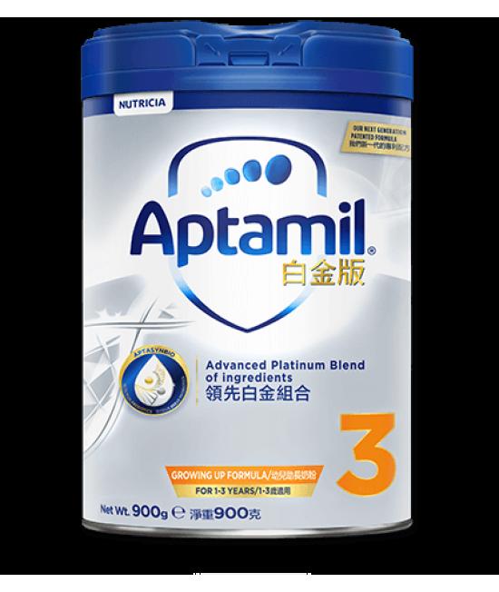 APTAMIL白金版 3號嬰兒奶粉 (1-3歲適用) 900g