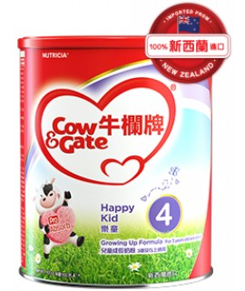 COW & GATE 牛欄牌 樂童4號嬰兒奶粉 (3歲及以上適用) 900g