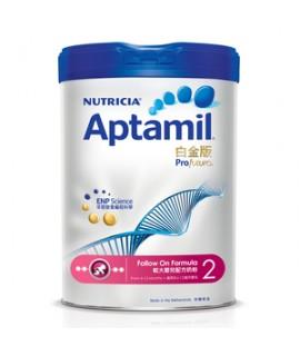 APTAMIL白金版 2號嬰兒奶粉 (6-12月適用) 900g