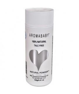 AROMABABY有機天然爽身粉 125g (不含滑石粉)