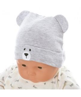 AKACHAN 灰色小熊帽