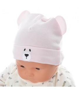 AKACHAN 粉紅色小熊帽