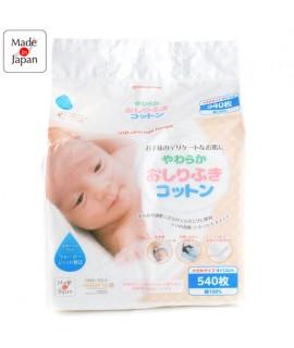 AKACHAN嬰兒潔淨棉 540片裝 (12cm x 8cm)
