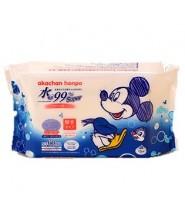 AKACHAN 99%水份濕紙巾 60片(MICKEY 特別版)