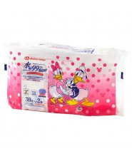 AKACHAN WET TISSUE FOR HANDS AND MOUTH 30S X2 (DAISY & DONALD)