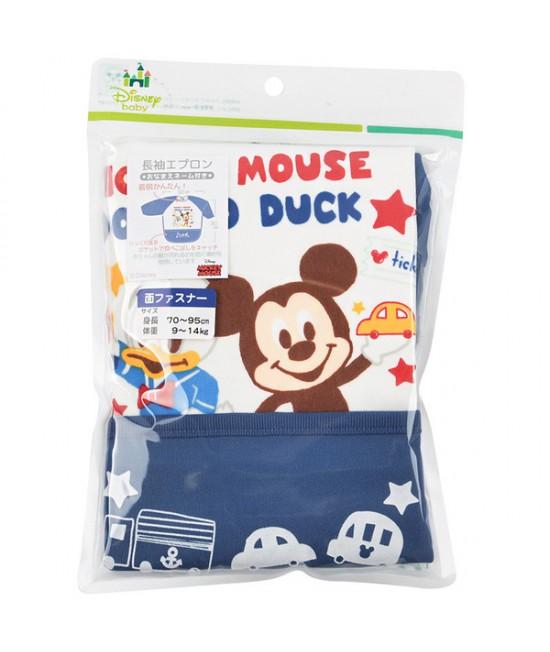 AKACHAN 長袖飯衣 - Mickey&Donald