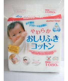 AKACHAN嬰兒潔淨棉 1080片裝 (6cm x 8cm)