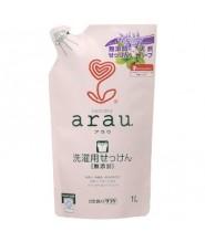 ARAU薰衣草洗衣液(微香) 補充裝 1L