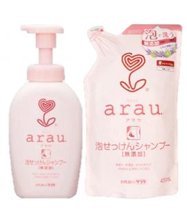 ARAU天然泡泡洗頭水套裝