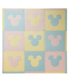 BABIESRUS米奇組合地墊9塊裝 (粉藍及粉紅)