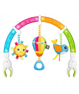 BENBAT 多重感官彩虹拱形嬰兒車玩具