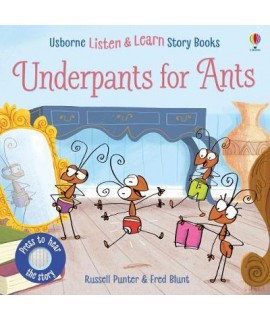 usborne Listen and learn story book - Underpants for Any (s)
