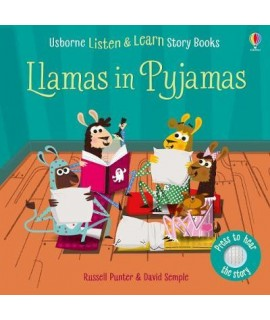 usborne Listen and learn story book - Llmas in Pyjamas