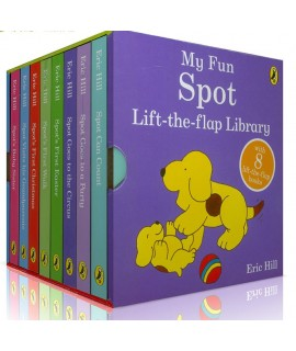 My Fun Spot-Lift The Flap Library (8 board books)