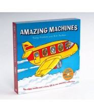 AMAZING MACHINES 10 BOOKS WITH STORY CD