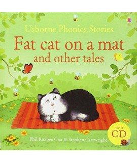 PHONICS STORIES - FAT CAT ON A MAT AND OTHER STORIES WITH CD