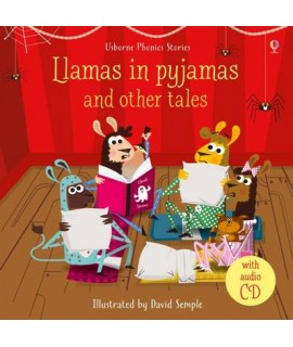 PHONICS STORIES - LLAMAS IN PYJAMSAS AND OTHER TALES WITH CD