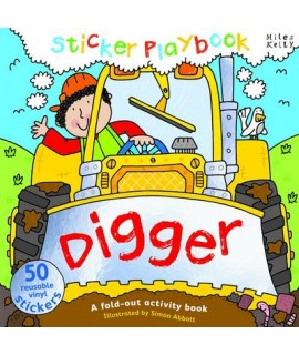 Sticker Playbook - Digger