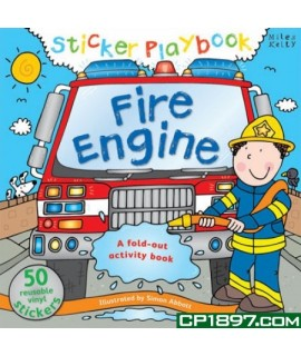 Sticker Playbook - Fire Engine