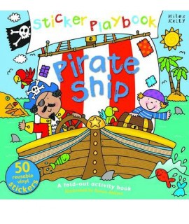 Sticker Playbook - Pirate Ship