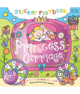 Sticker Playbook - Princess Carriage