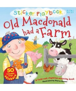 Sticker Playbook - Old Macdonald Had a Farm