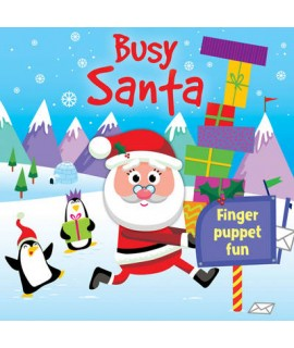 Santa's Busy Night - Finger Puppet Fun